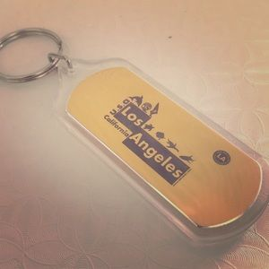 100 Los Angeles keychain